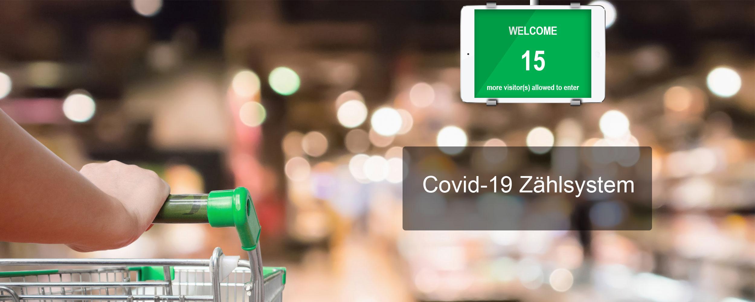 Covid-19 Kundenzählung